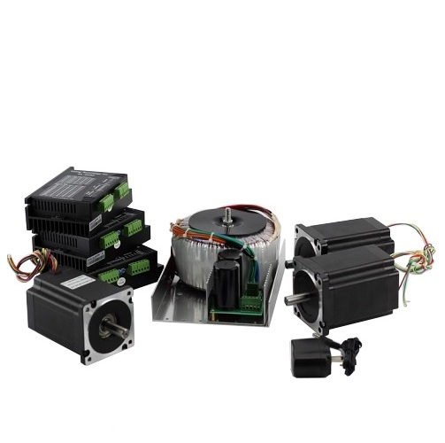 3-Axis NEMA34 CNC Kit (72V/20A/1200oz-in / KL8060 Driver)