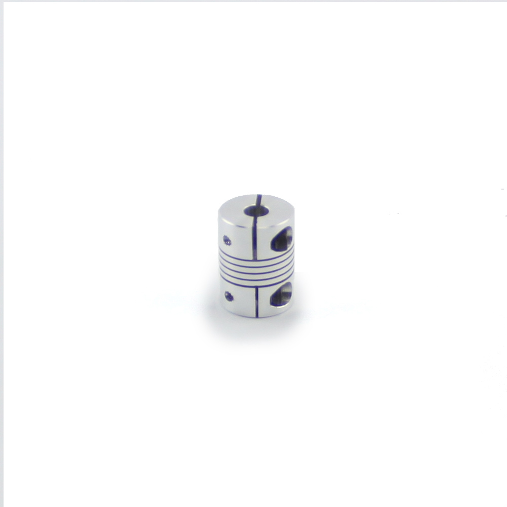 Flexible Aluminum Shaft Coupling 6.35 mm (1/4″) X 10 mm