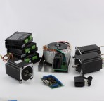 3-Axis NEMA34 CNC Kit (72V/20A/1200oz-in / KL8060 Driver)
