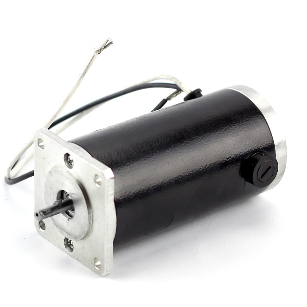 NEMA23 230 oz/in Dual Shaft DC Servo Motor (KL23-120-36) SKEWED ROTOR DESIGN