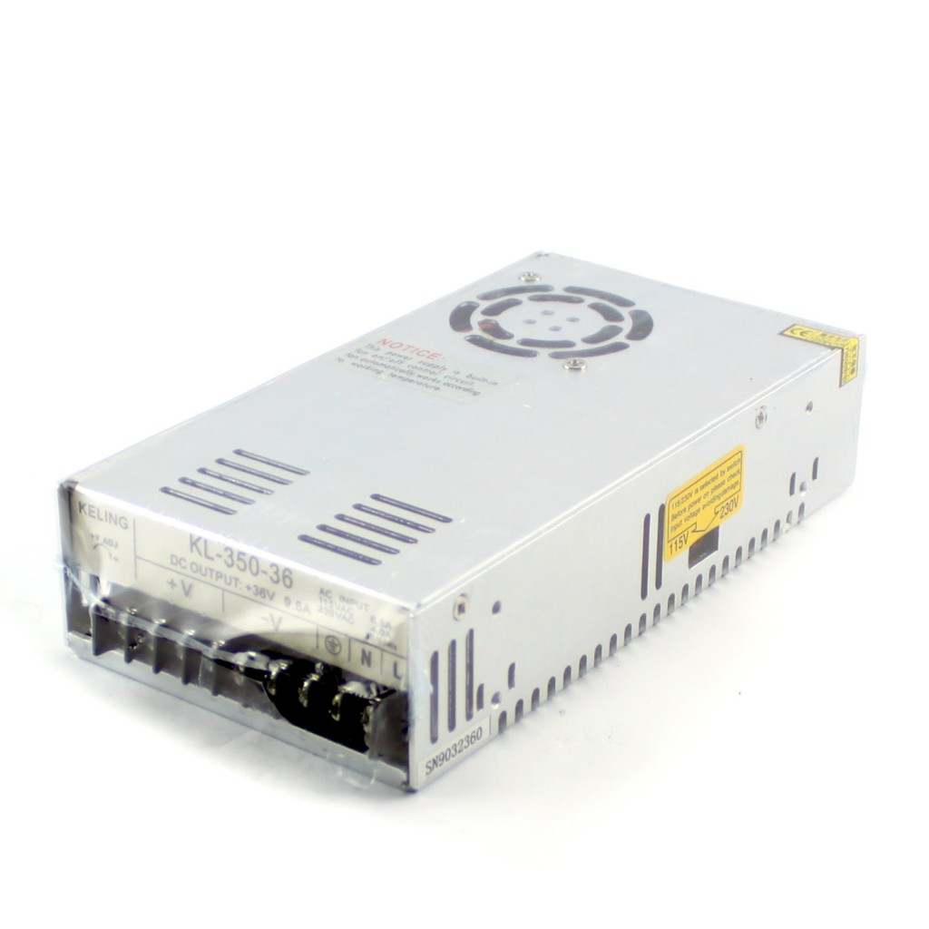 36V/9.7A Switching CNC Power Supply (KL-350-36)