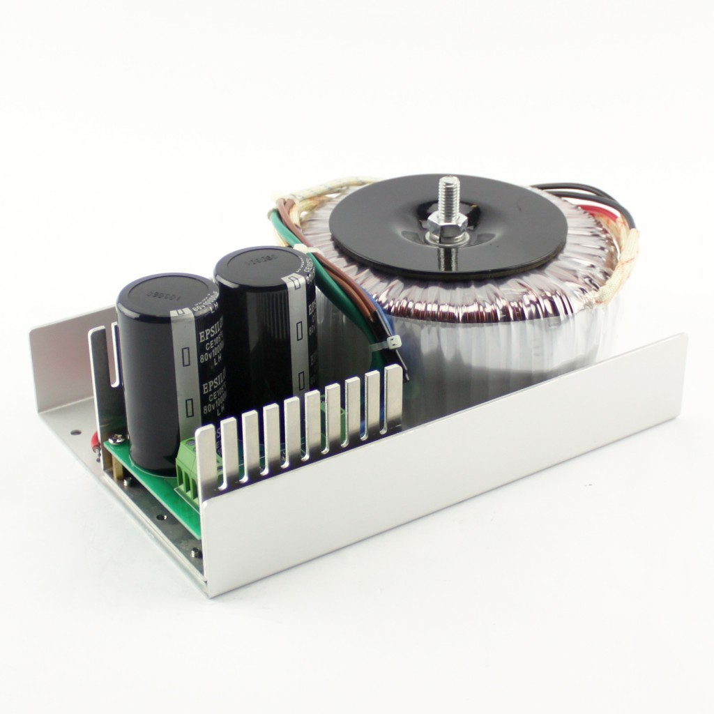 Unregulated Linear 1200W/60VDC/20A Toroidal PSU (KL-6020) with 5VDC