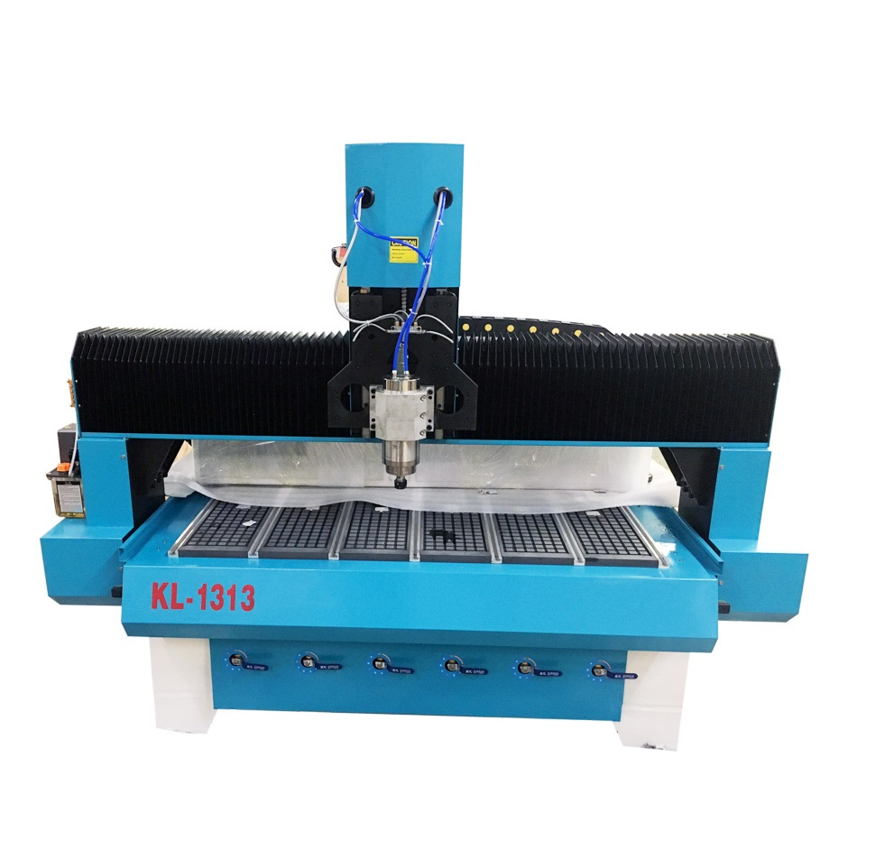 KL-1313 CNC Router 51″ x 51″ x 11.0″  T slot, Vacuum Table, Helical Rack and Pinion