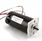 NEMA23 350 oz in Skewed Rotor Dual Shaft DC Servo Motor (KL23-130-60)