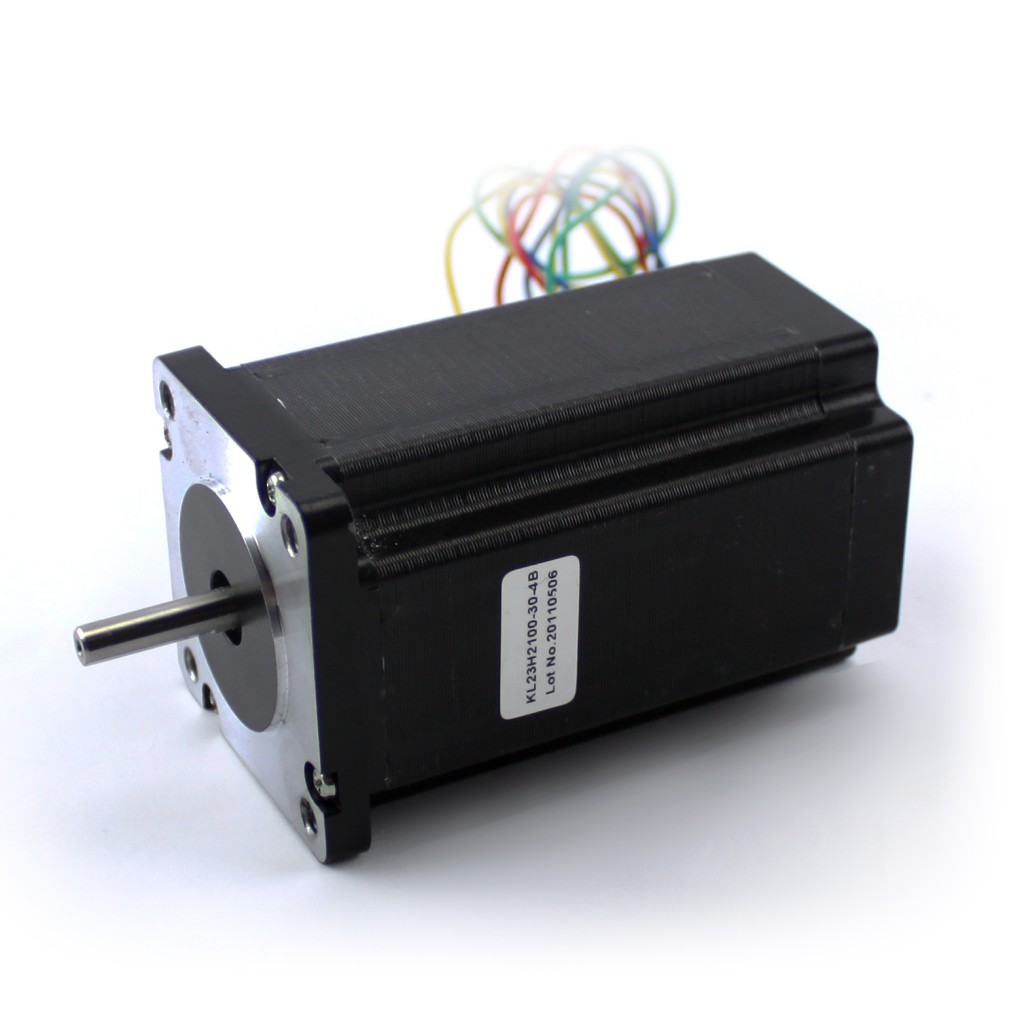 NEMA23 382oz/in 3.0A Stepper Motor 1/4 Dual shaft (KL23H2100-30-4B)