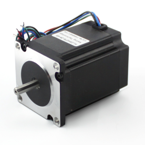 NEMA23 280oz/in 2.8A 1/4″ Dual Shaft Stepper Motor (KL23H276-28-4B)