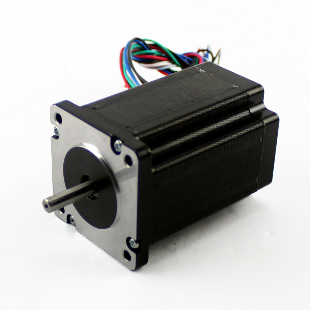 how to connect stepper motor with plc
