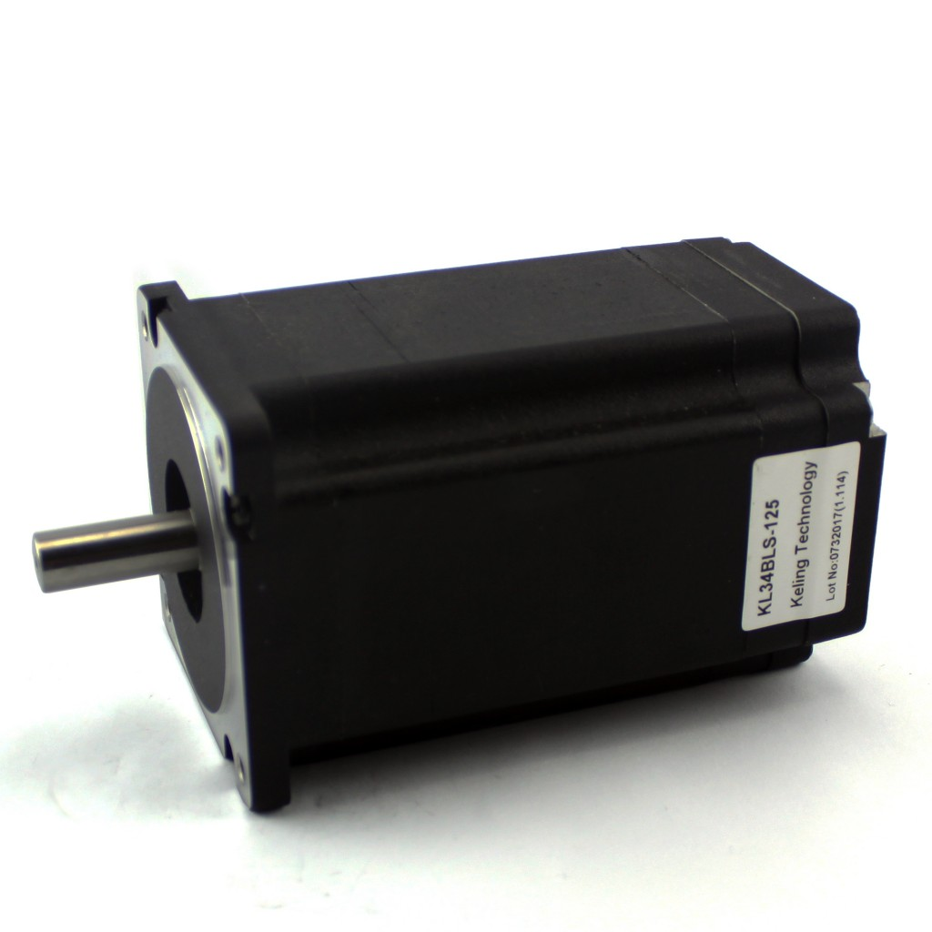NEMA34 DC Brushless Motor KL34BLS-98 single shaft
