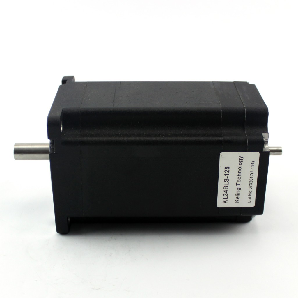 DC Brushless Motor KL34BLS-125 ( Dual shaft)