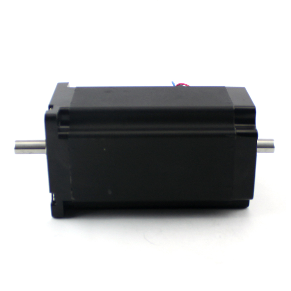NEMA34 1805oz-in Stepper Motor – 1/2″ Dual Shaft (KL34H2160-62-8B)