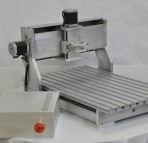 KL4530 Desktop CNC Router with 3 Stepper motors, controller box and Spindle