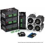 4-Axis NEMA34 CNC Kit (1805oz-in/KL2283) 110VAC INPUT