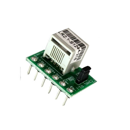 C34KL Stepper Driver to RJ45 Breakout Board