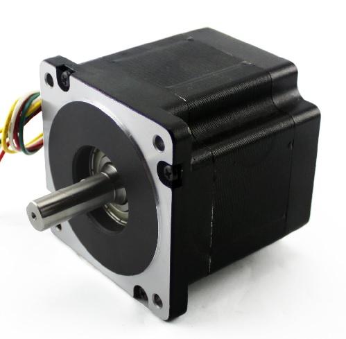 NEMA34 Stepper Motor – 906 oz in 6.1A Single Shaft (KL34H295-43-8A)