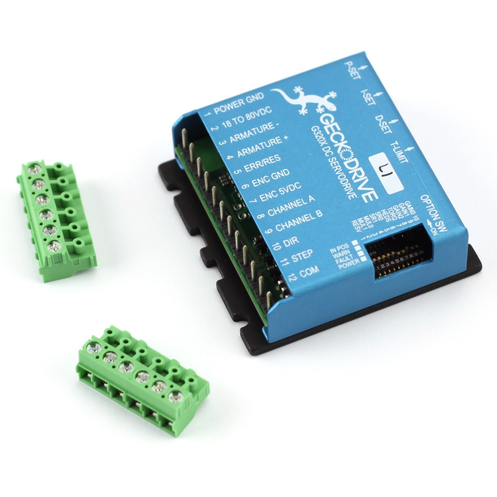Geckodrive servo motor driver g320x automation for Servo motors and drives inc