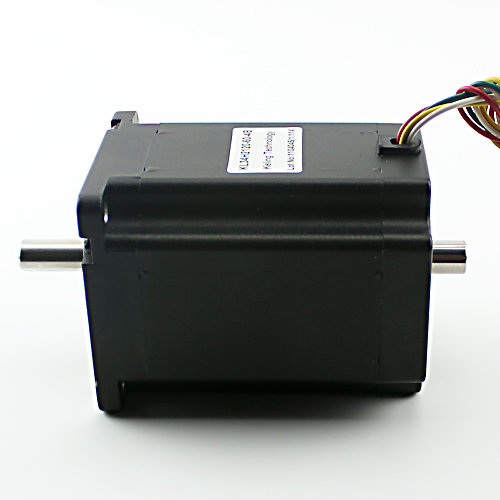 NEMA34 1200 oz-in Stepper Motor – Dual Shaft (KL34H2120-42-8B)