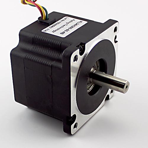 NEMA34 6A 456oz/in Stepper Motor – Dual Shaft (KL34H260-60-4B)