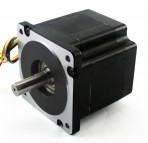 NEMA34 Stepper Motor – 906 oz in 6.1A Dual Shaft (KL34H295-43-8B)