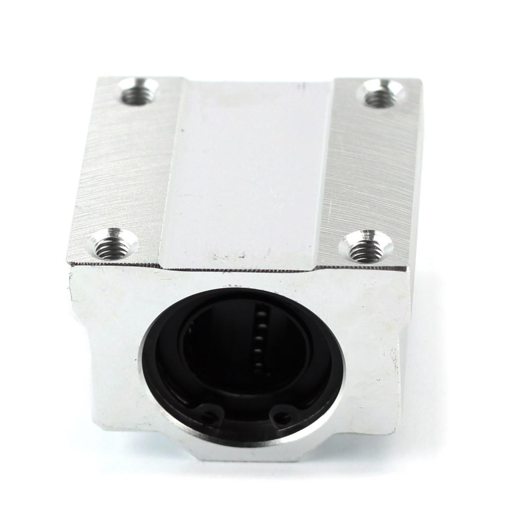 20 mm Aluminium Shaft Support (Pre-installed Bearing LME20UU 20mm)