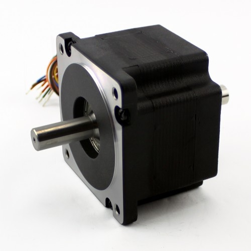 NEMA34 465 oz/in 3.5A Stepper Motor Dual Shaft (KL34H260-35-4B)