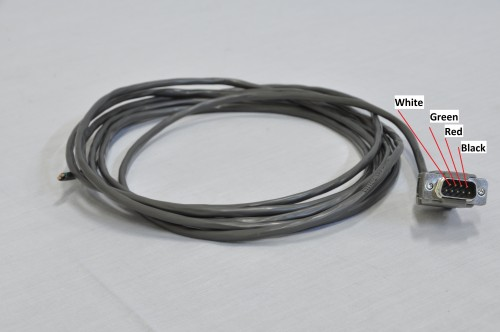 G540 Motor Cable, 6 feet