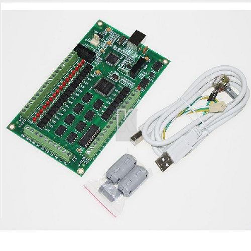 4 Axis CNC USB Card Mach3 200KHz Breakout Board