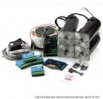 3-Axis NEMA34 600 oz in 72V/20A PSU G320X Gecko Driver