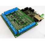 6 Axis Ethernet SmoothStepper Motion Control Board with Terminals for Mach3, Mach4