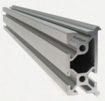 Open Source Aluminum Extrusion with V-rail Linear Bearing System Built in, 420mm