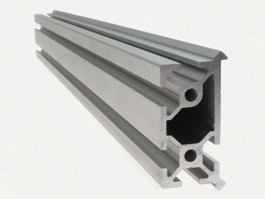 Open Source Aluminum Extrusion with V-rail Linear Bearing System Built in, 330mm