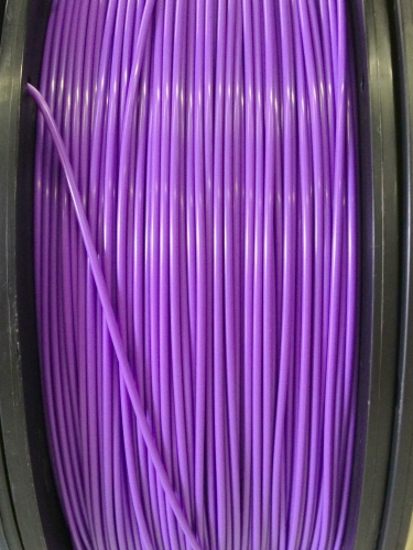 ABS Filament 1.75mm Dia,  Grape, on Spool, 1Kg/2.2Ibs