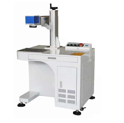 Industrial Fiber Laser Engraver, Fiber Marking Machine, We use all authentic parts