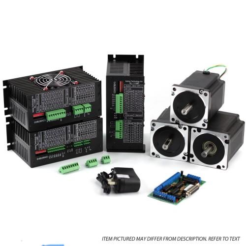 NEMA34 1805 oz-in Steppper Motors 3 Axis CNC Kit