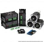 NEMA34 1805 oz-in Steppper Motors 2 Axis CNC Kit