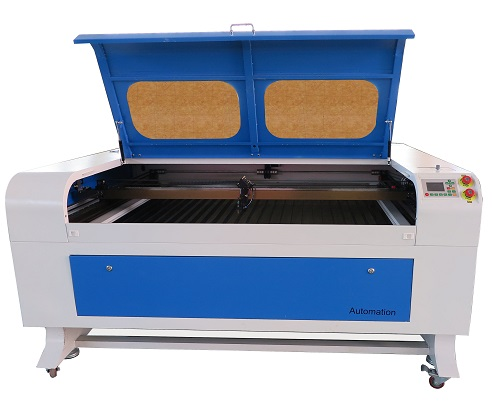 CO2 Laser Cutter and Engraver With Auto Focus, RECI CO2 Glass Tube, Auto Focus, about 60  x 48 inch