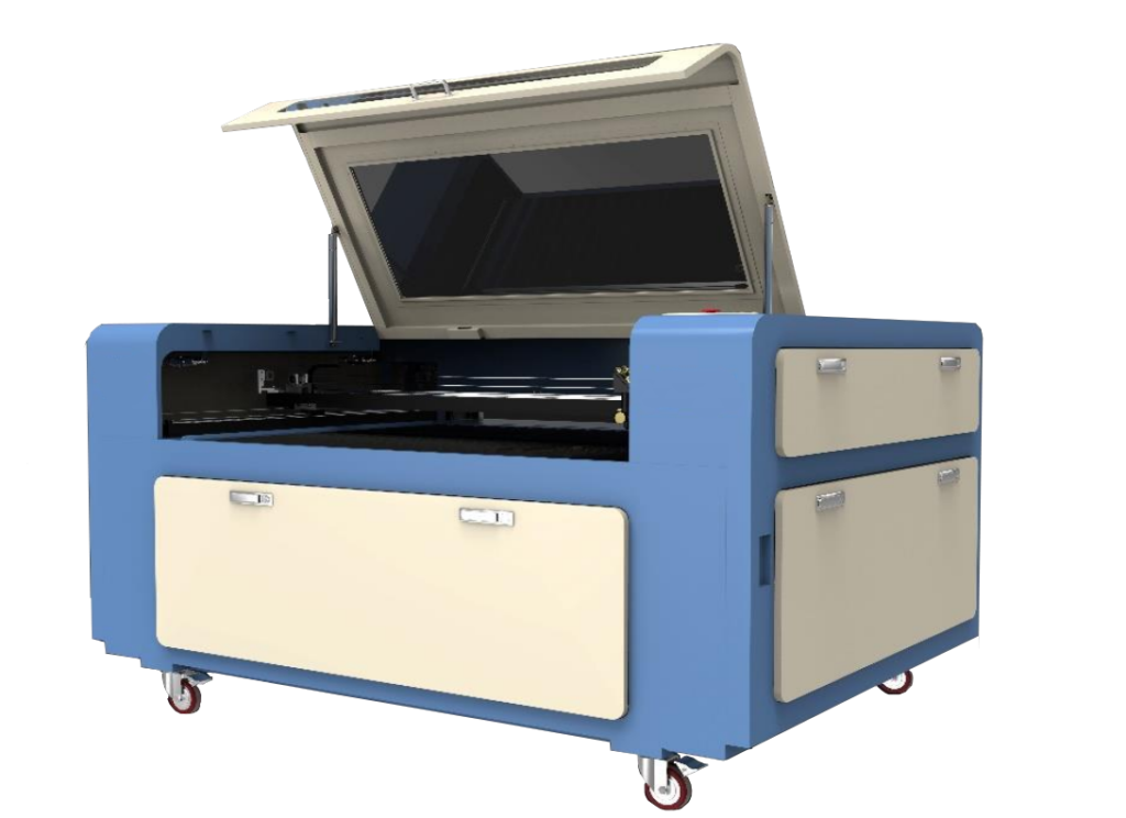 CO2 Laser Cutter and Engraver, RECI CO2 Glass Tube, 51 ″ x 36″ 130W RECI tube