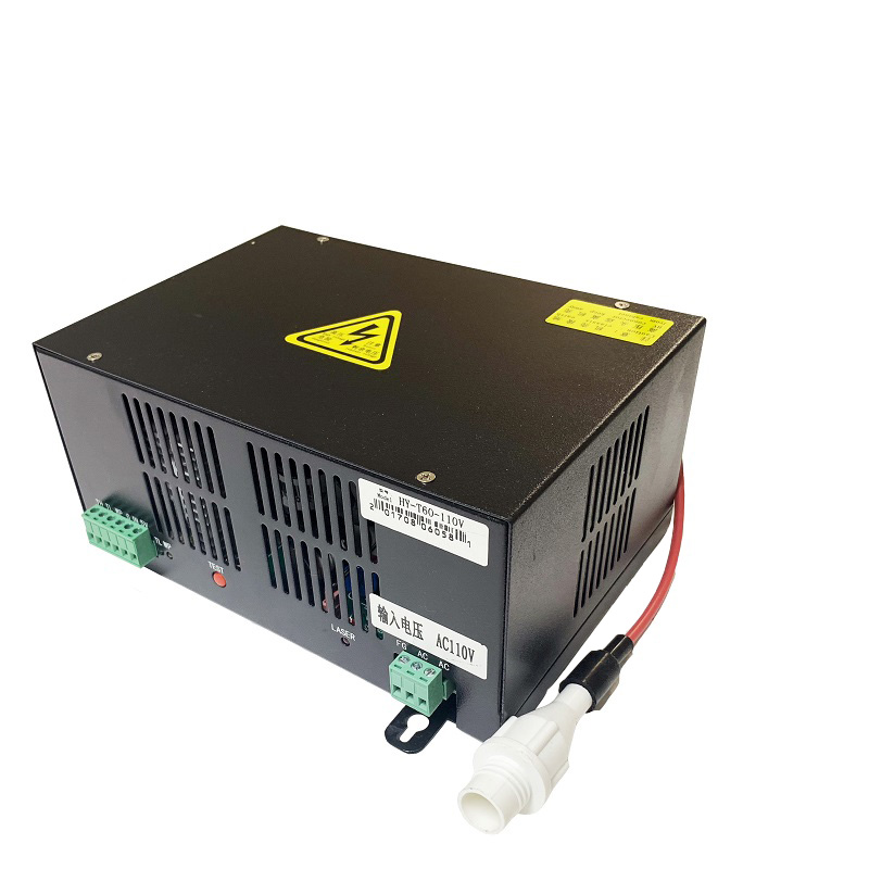 NEW 60W CO2 LASER POWER SUPPLY (Black or Blue)