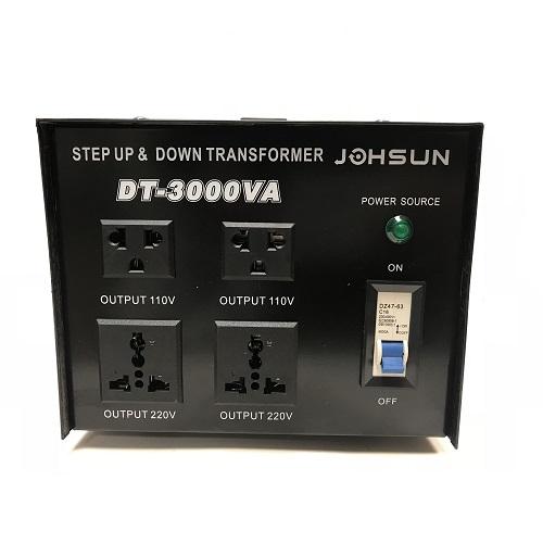 3000 Watt Step Up/Down Electrical Power Voltage Converter Transformer