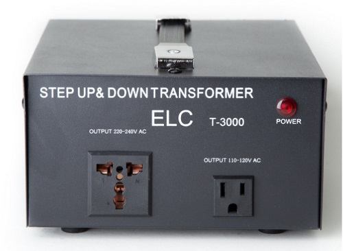 3000 WATT VOLTAGE CONVERTER TRANSFORMER 110VAC/220VAC