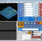 UCCNC Control Software, 6-axis ( X,Y,Z, A,B,C)