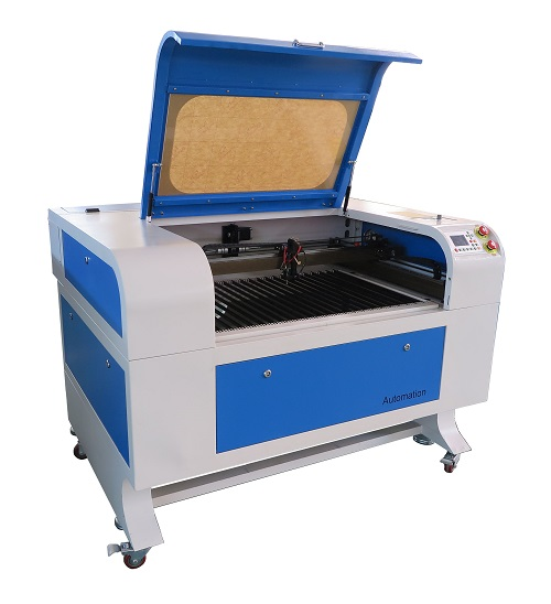CO2 Laser Cutter and Engraver With Auto Focus, 90W, RECI CO2 Glass Tube, Auto Focus, 36 inch x 24 inch (690-90W)