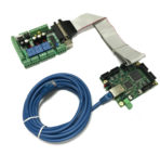 6 Axis Ethernet SmoothStepper Motion Control Board for Mach3 and Mach4, with Relay and Spindle control