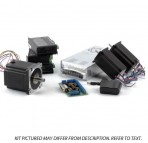 3-Axis NEMA23,34 Stepper Motor Upgrade Kit (1x 906oz/in, 2x570oz/in, 3x Stepper Drivers, etc)