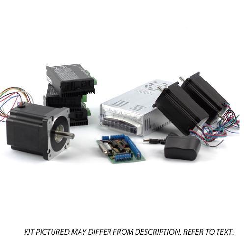 3-Axis NEMA23,34 Stepper Motor(1x 906oz/in, 2x570oz/in, 3x Stepper Drivers, etc)
