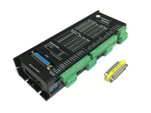 4-Axis DSP Based Digital Stepper Driver Max 60VDC/6.0A, MX4660