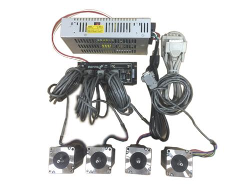 4 Axis Stepper Motor CNC Router / Mill Electronics Kit, Gecko G540 (110VAC/220VAC), 570 oz-inch