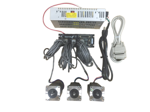 3 Axis Stepper Motor CNC Router / Mill Electronics Kit, Gecko G540, 48V/7.3A