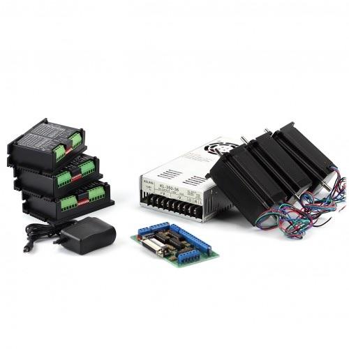 3-Axis NEMA23 CNC Kit (48V/7.3A/425oz-in/KL-5056)