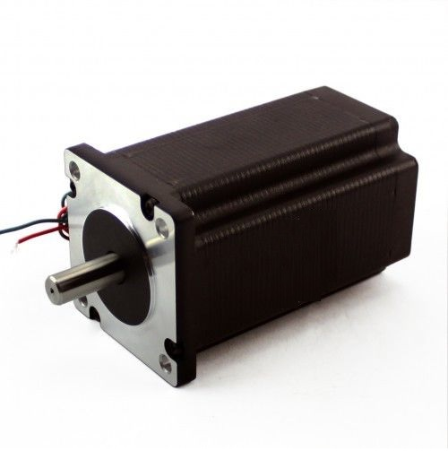 "NEMA23 570oz/in 5A 1/4"" Dual Shaft Stepper Motor (KL23H2100-50-4BM)"