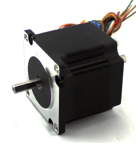 "NEMA23 140oz/in 2.8A Stepper Motor ¼"" Single shaft (KL23H251-28-4A)"
